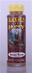 Black Hills Flavored Honey - Butter Pecan 12oz