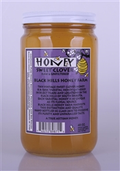 48oz Sweet Clover Raw | Black Hills Honey Farm