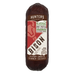 Bison Summer Sausage 6oz | Hunter's Reserve