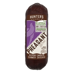 Pheasant Summer Sausage 6oz | Hunter's Reserve