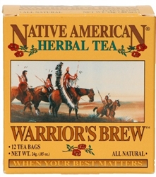 Warrior's Brew | Native American Tea