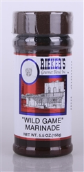 Wild Game Marinade | Riekers