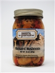Marinated Mushrooms 16oz | South Dakota