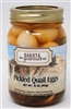 Pickled Quail Eggs 16oz | South Dakota
