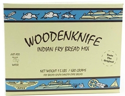 Wooden Knife Fry Bread Mix
