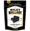 Wiley Wallaby Aussie Style Black Licorice (Economy Case Pack) 10 Oz Bag (Pack of 10)