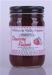 Strawberry-Rhubarb Jam 12oz
