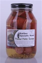 Pickled Polish Sausage 24oz