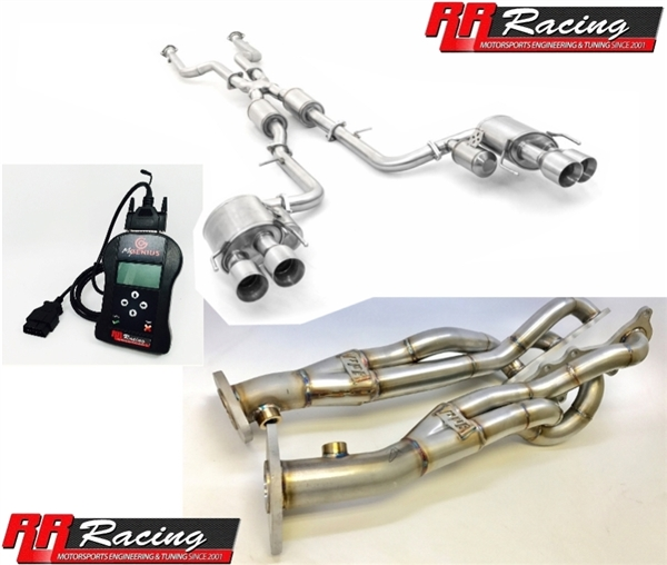 RR Racing Lexus IS 3XX AWD Performance Upgrade Package with Quad Tips