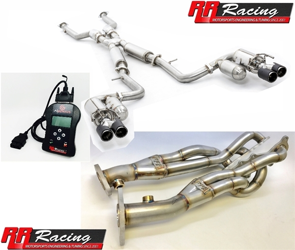 RR Racing Lexus IS3XX RWD Performance Upgrade Package 2017+ Quad Tip, Carbon