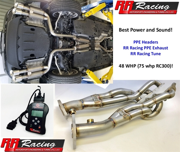 RR Racing Lexus RC 3XX AWD Performance Upgrade Package  for RC