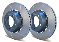 Rear two-piece racing rotors for Porsche 991.1