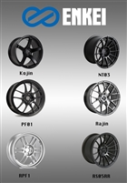 Enkei Wheels for Toyota GT86, Subaru BRZ, Scion FRS