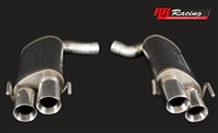 RR Racing Quad Tip Upgrade for Borla Exhaust System for Lexus IS-F