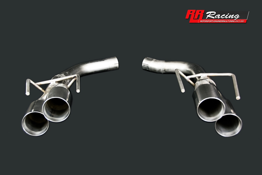 RR Racing Quad Tip Bazooka Exhaust System for Lexus IS-F
