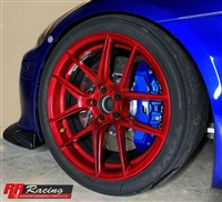RR Racing Front Lexus ISF Brake Conversion