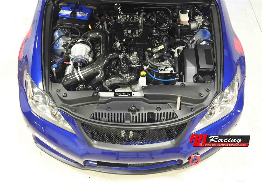 RR Racing RR625 Supercharger Kit for Lexus IS-F