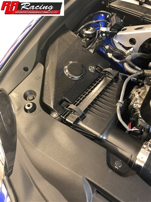 RR Racing Carbon Fiber Intake Heat Shield for Lexus RCF