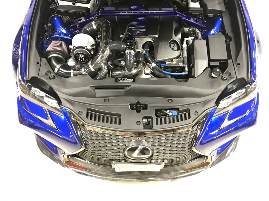 RR Racing RR670 Supercharger Kit for Lexus RCF/GSF