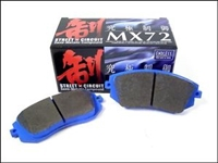Endless MX72 Front + Rear Pads for Lexus RC F and GS F