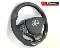 Custom Carbon Fiber Steering Wheel for Lexus RC