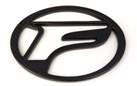 RR Racing Lexus RCF Front Carbon Vented F Badge