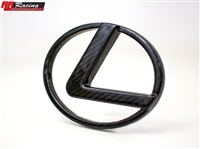 RR Racing Lexus RC Front Carbon Vented L Badge