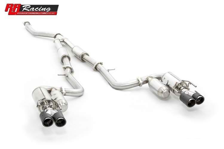 Ark Grip Exhaust with Quad Carbon Tips for Lexus IS200t RWD (IS300)