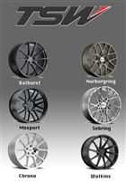 TSW Wheels for Lexus