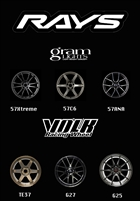 Volk Wheels for Toyota GT86, Subaru BRZ, Scion FRS