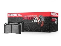 Hawk HPS 5.0 Street Rear Brake Pads (factory rear vented disc)
