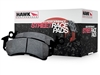 Hawk HP-Plus Street/Track Rear Brake Pads  (factory rear vented disc)