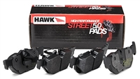 Hawk HPS 5.0 Street FRONT brake pads (factory 292mm front rotors)