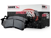 Hawk HP-Plus Street/Track FRONT brake pads (factory 292mm front rotors)