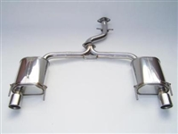 Invidia Q300 Cat-Back Exhaust System with Rolled Stainless Steel Tip for Lexus IS250/350