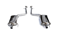 Invidia Q300 Axle-Back Exhaust System for GS350 2013-2015