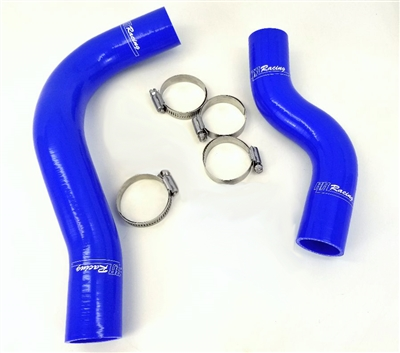 RR Racing Silicone Radiator Hose Set for Lexus RC F (Blue)