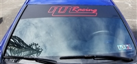 RR Racing Windshield Decal