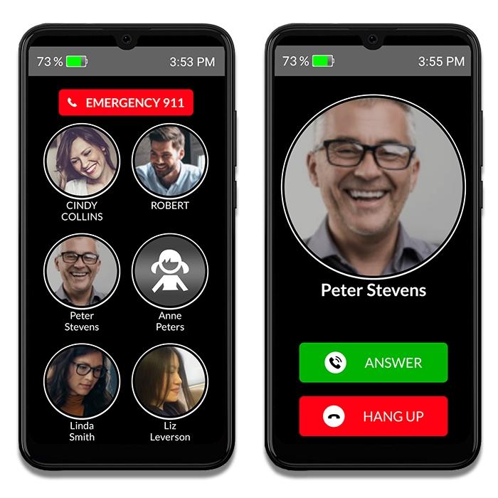 basic phone service for senior citizens