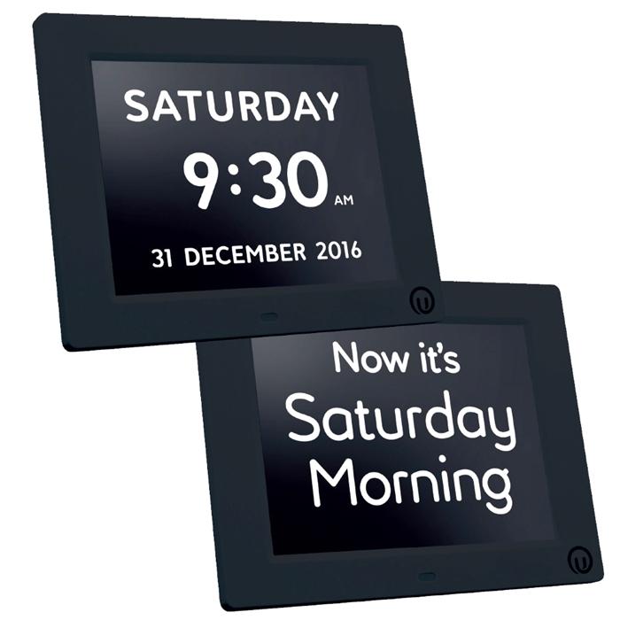 Alzheimers 2 In 1 Calendar Day Clock Calendar Clocks For Dementia