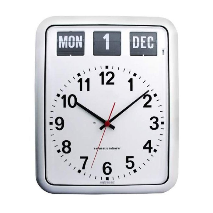 Day And Date Clock For Alzheimer S Easy Read Wall Clock
