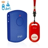 medical alert pendant with remote portable alarm kit for seniors and those with Alzheimer's dementia elderly SMPL medical alert pendant