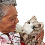 Ageless Innovations Joy For All Robotic Kitten for Alzheimer's and Dementia Moves and Purrs