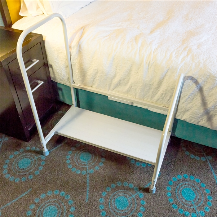 Ordinaire Step2Bed Bed Hand Rail Adjustable Height Bed Step Stool With LED Light  Helps Get In And