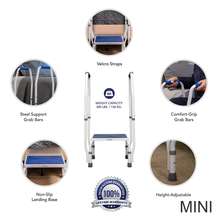 Incredible Step2Bed Bed Rail Step Stool W Led Light Cjindustries Chair Design For Home Cjindustriesco