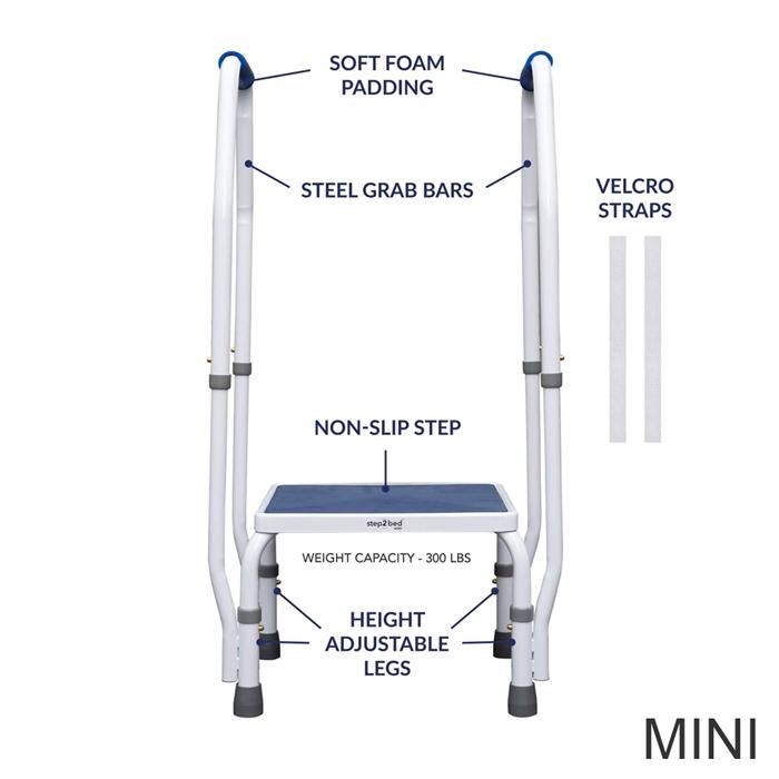 Astonishing Step2Bed Bed Rail Step Stool W Led Light Cjindustries Chair Design For Home Cjindustriesco