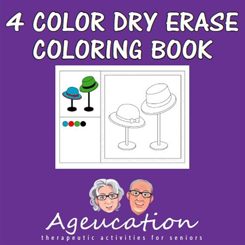 dry erase coloring book