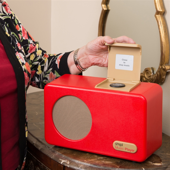 music player for alzheimer s and dementia simple music player
