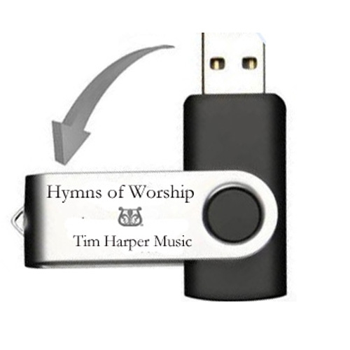 Hymns and Religious songs on flash drive MP3