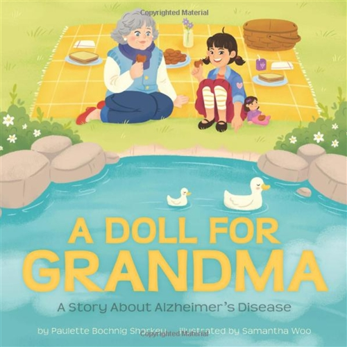 Doll Therapy and gifts for grandchildren to give to their grandparents with dementia and Alzheimers